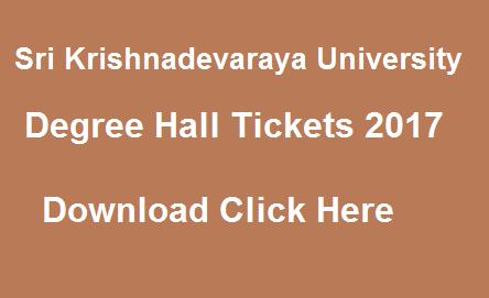 sku degree hall tickets 2017 manabadi