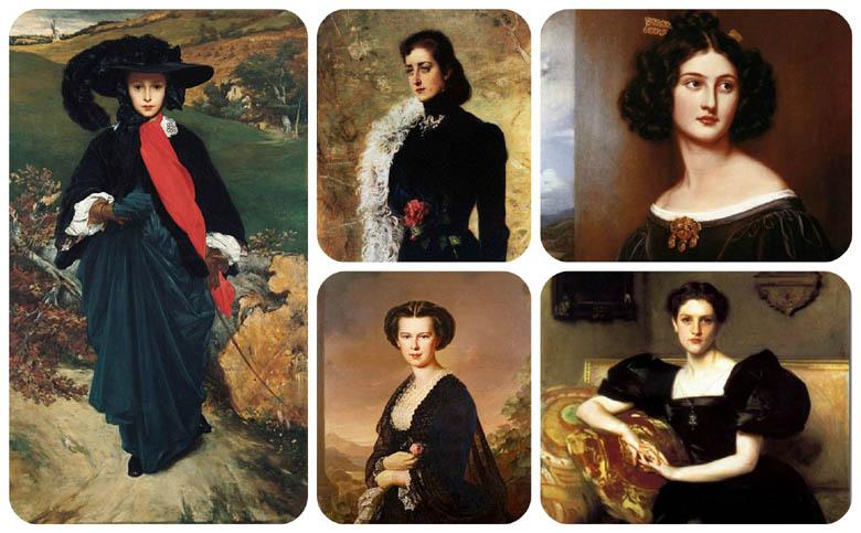 "moda, fashion, negro, elegancia, arte, historia, victoriano, Madame x, Balenciaga, Chanel, Petit Robe Noir"", Litle Black Dress, outfit, look, hermanas Bronte,"