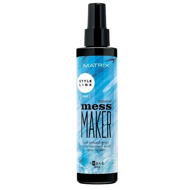 MATRIX, #GETMESSEDUP with MESS MAKER SALT INFUSED SPRAY