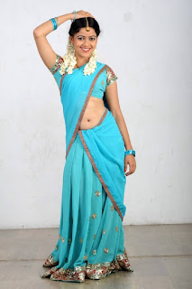 Actress Anu Upadhyaya Pictureshoot Gallery in Traditional Half Saree  0007.jpg