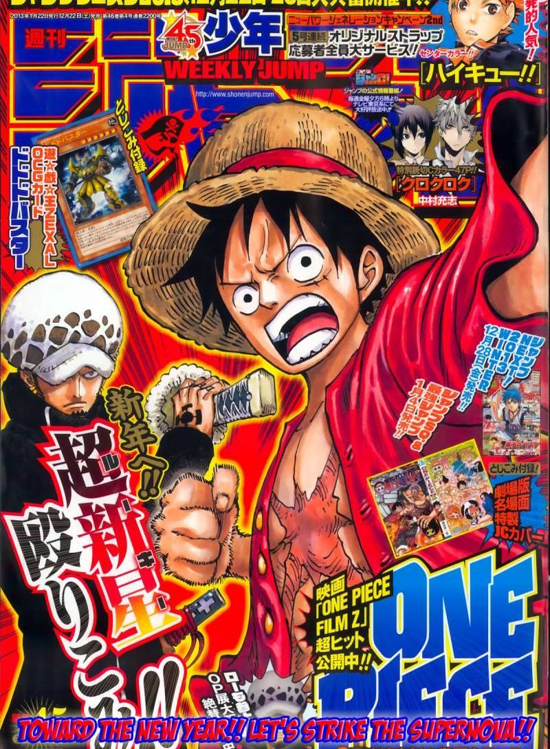 One Piece Ch 693 - Die For Me