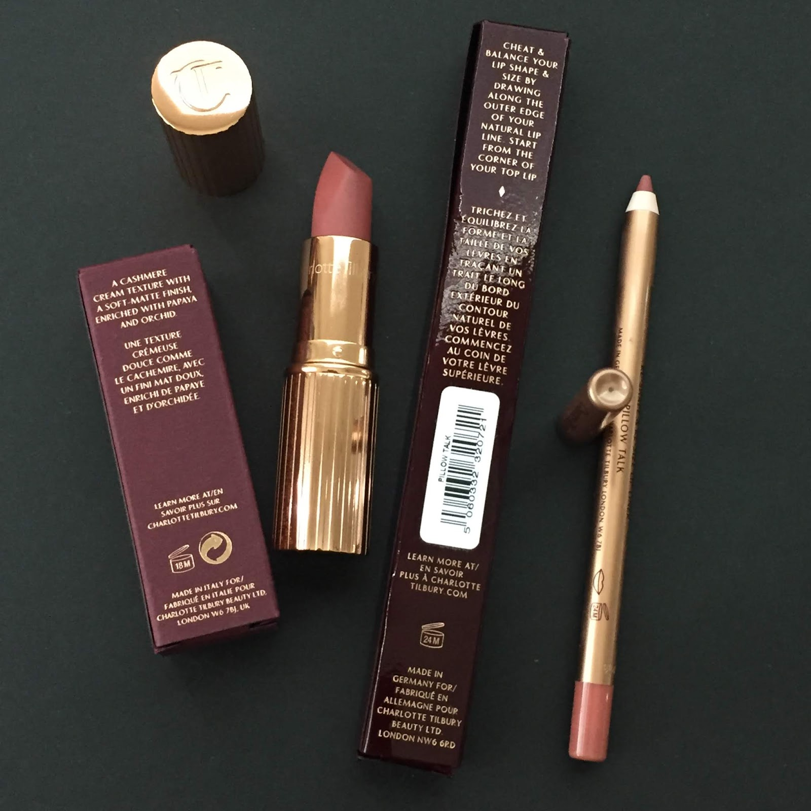 Charlotte Tilbury Pillow Talk Makeup Collection Review, Swatches