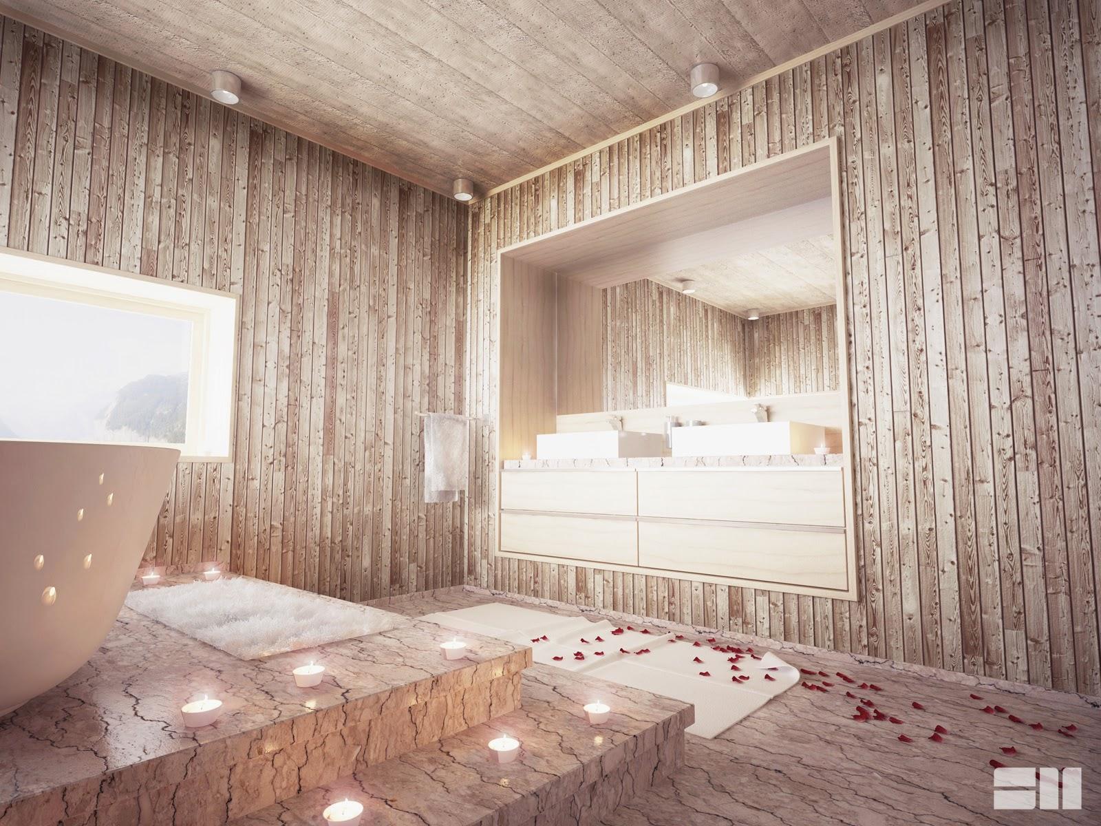 SM visualisations: Alpine bathroom