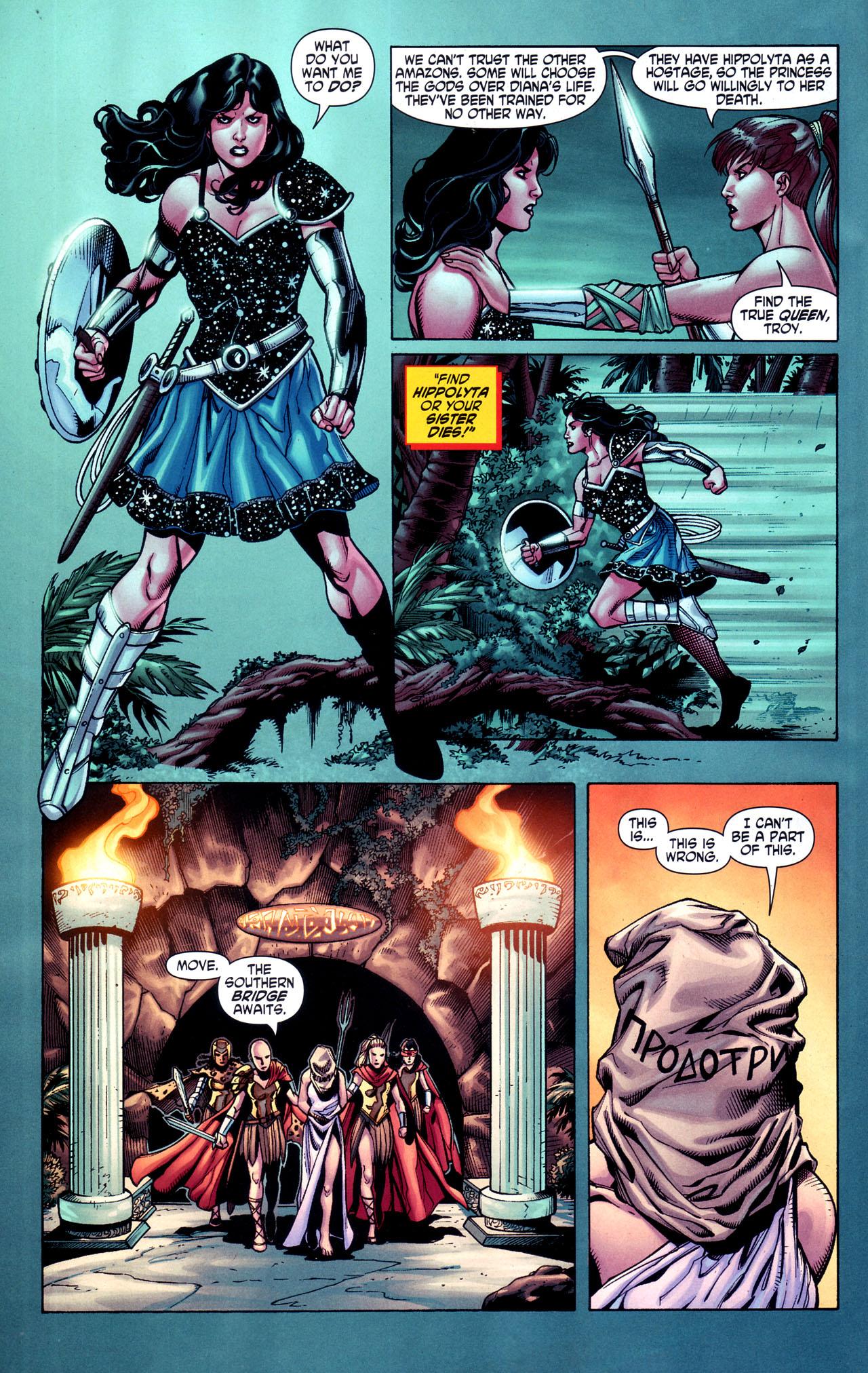 Read online Wonder Woman (2006) comic -  Issue #38 - 17