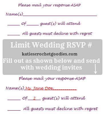 Free Wedding Templates Rsvp Amp Reception Cards Katie S