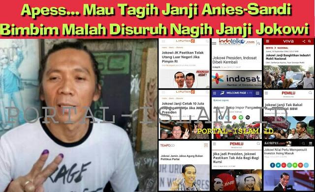 Bimbim Slank Mau Tagih Rumah DP 0% Anies Sandi, Malah Disuruh Netizen Nagih Janji ke Jokowi