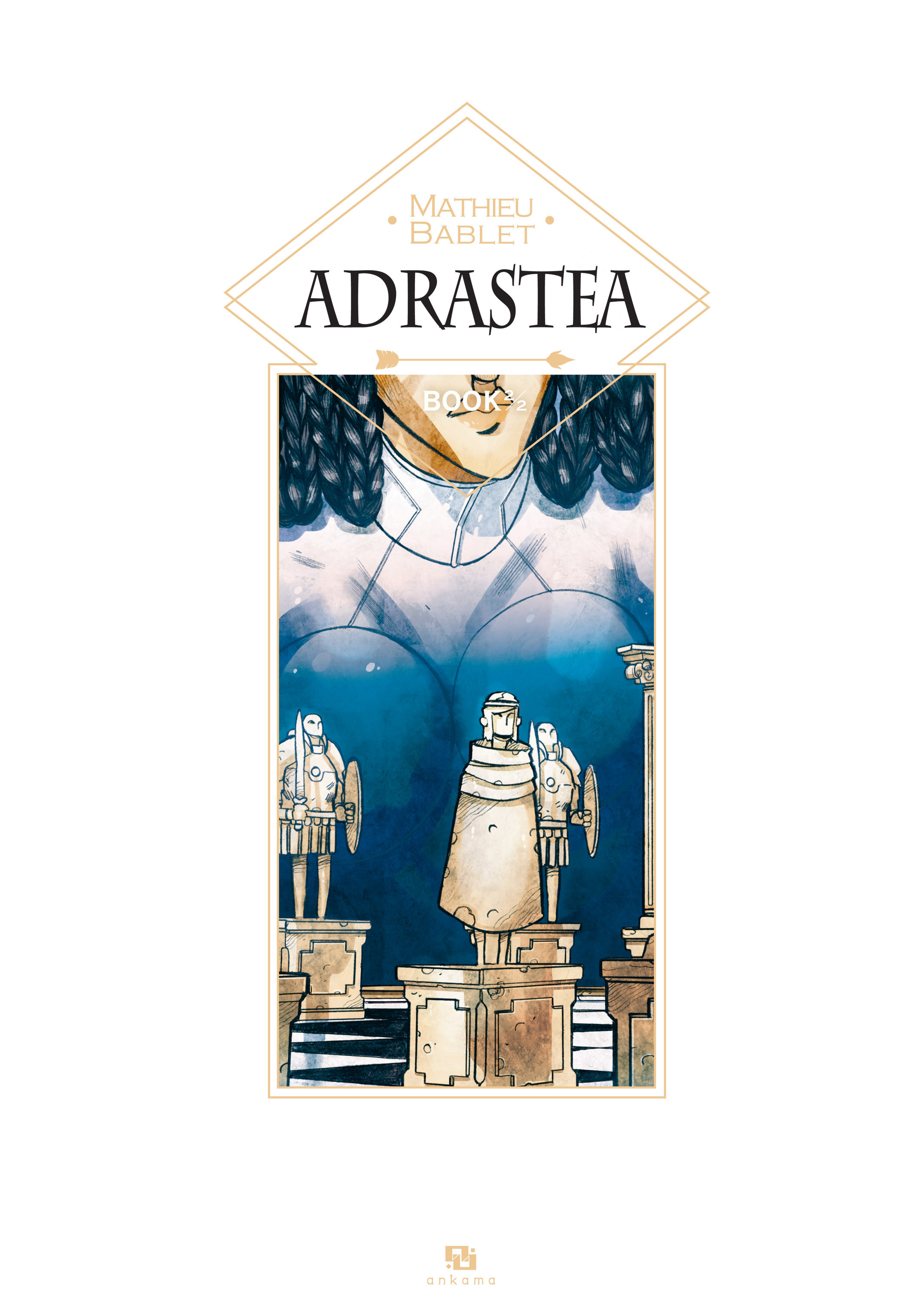 Read online Adrastée comic -  Issue #2 - 3