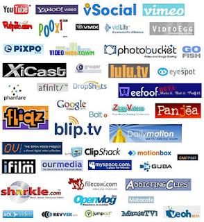 high pr video sharing sites
