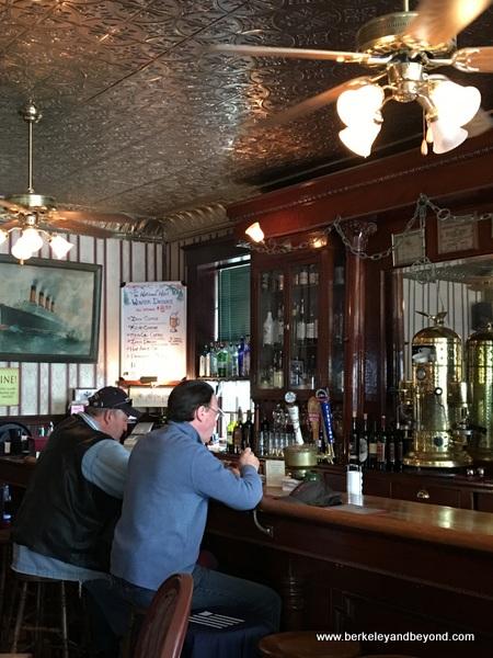saloon at National Hotel in Jamestown, California