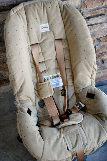 Recover existing car seat cover