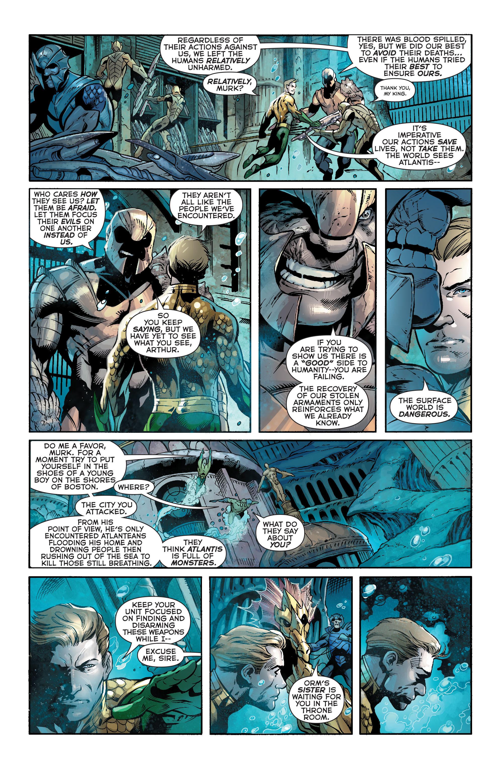 Read online Aquaman (2011) comic -  Issue #18 - 8