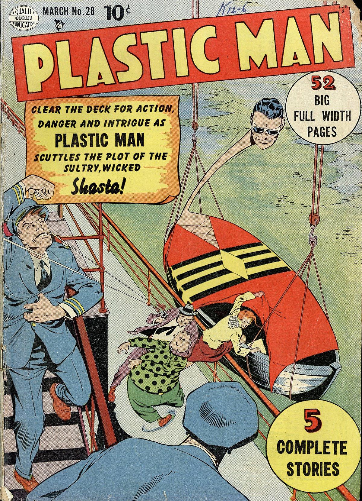 Plastic Man (1943) 28 Page 1