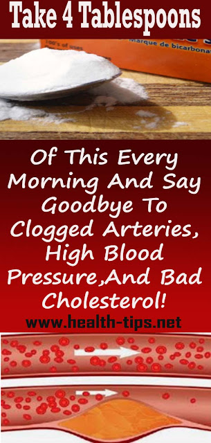Take 4 Tablespoons Of This Every Morning And Say Goodbye To Clogged Arteries, High Blood Pressure, And Bad Cholesterol!#NATURALREMEDIES