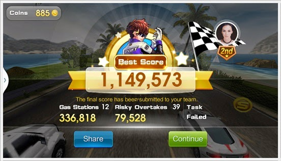 Markah Sejuta WeChat Speed All Star Race