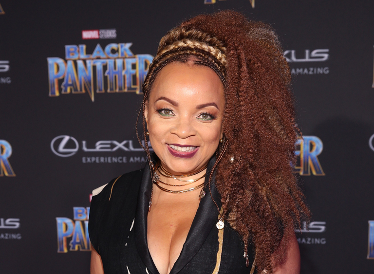 Ruth E Carter at Black Panther Premiere