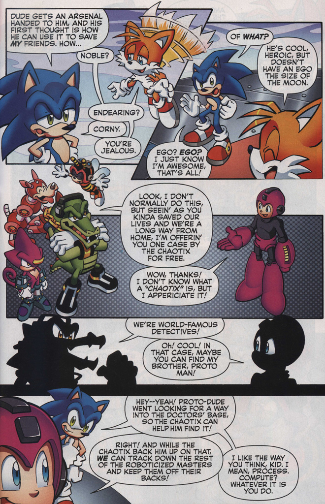 Read online Sonic The Hedgehog comic -  Issue #249 - 27