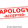 Accepting an Apology
