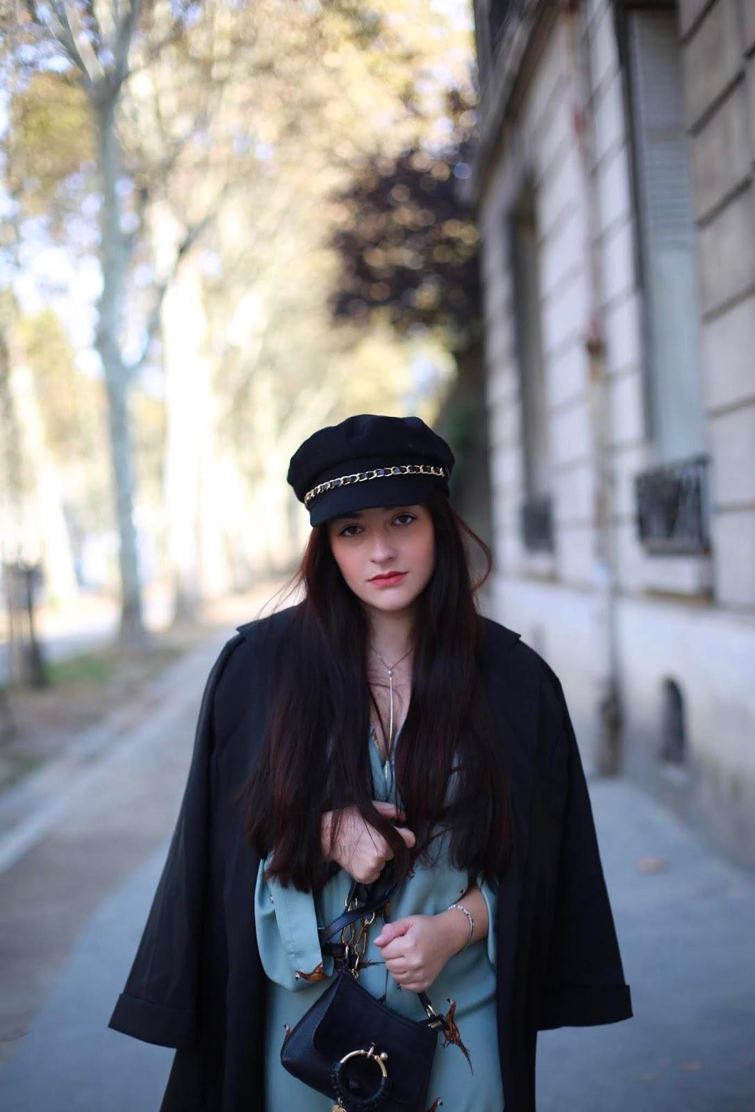 casquette à chaine blog mode
