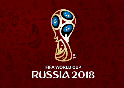 Logo FIFA World Cup 2018 Russia Vector