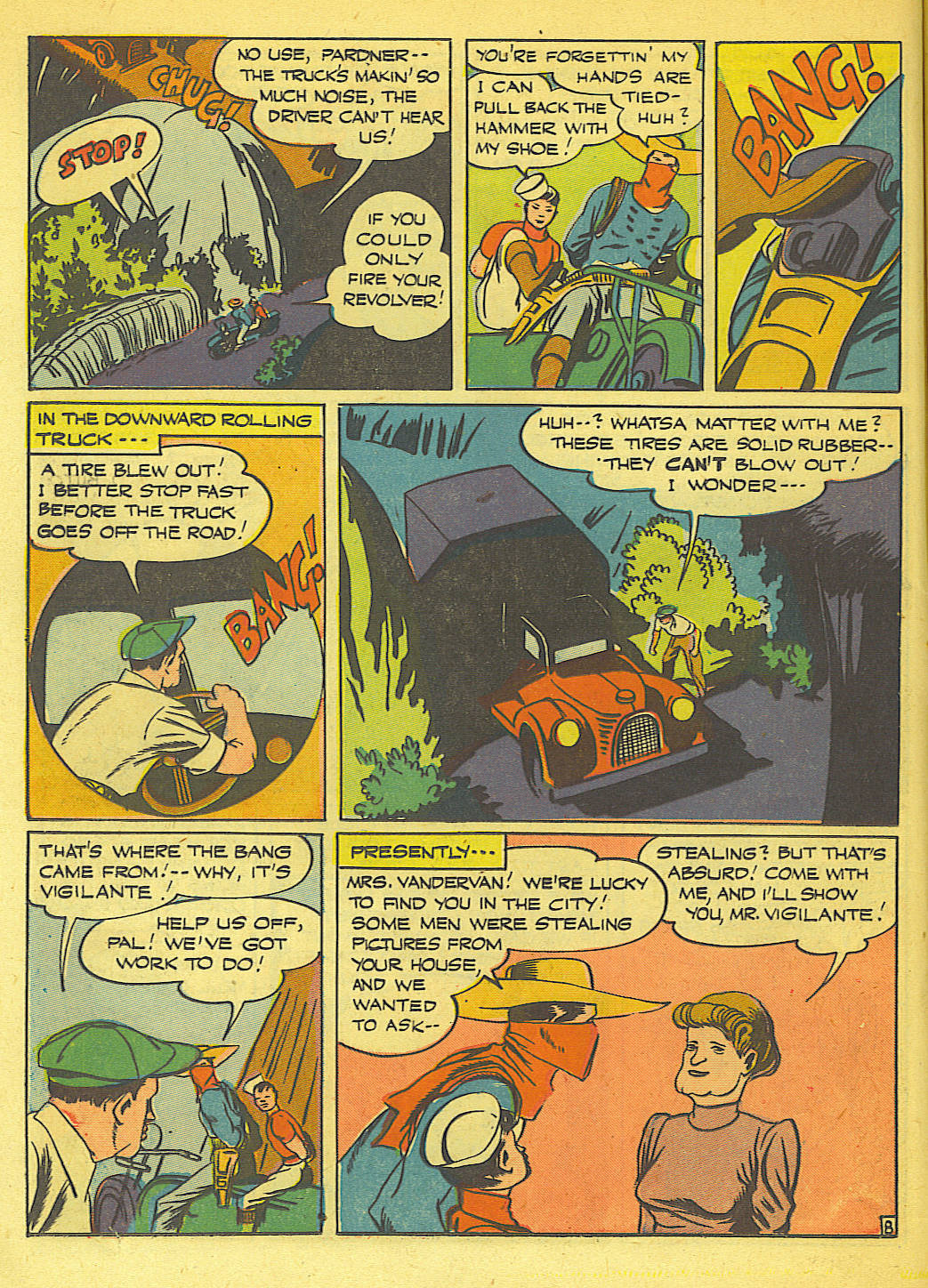 Read online Action Comics (1938) comic -  Issue #71 - 22