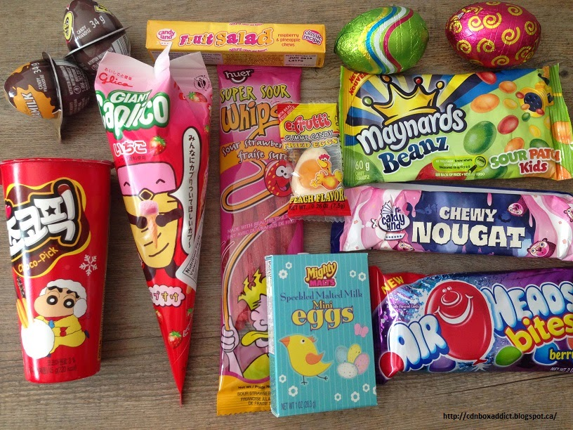 Project Candy Box Review April 2015 Canadian Candy