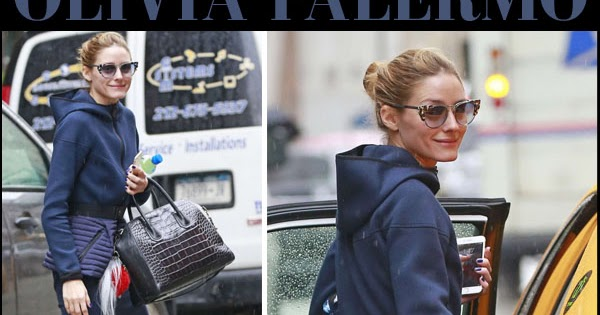 4f3bddbdd66 Olivia Palermo in blue belted jacket and blue pants in Brooklyn on April 4  ~ I want her style - What celebrities wore and where to buy it. Celebrity  Style