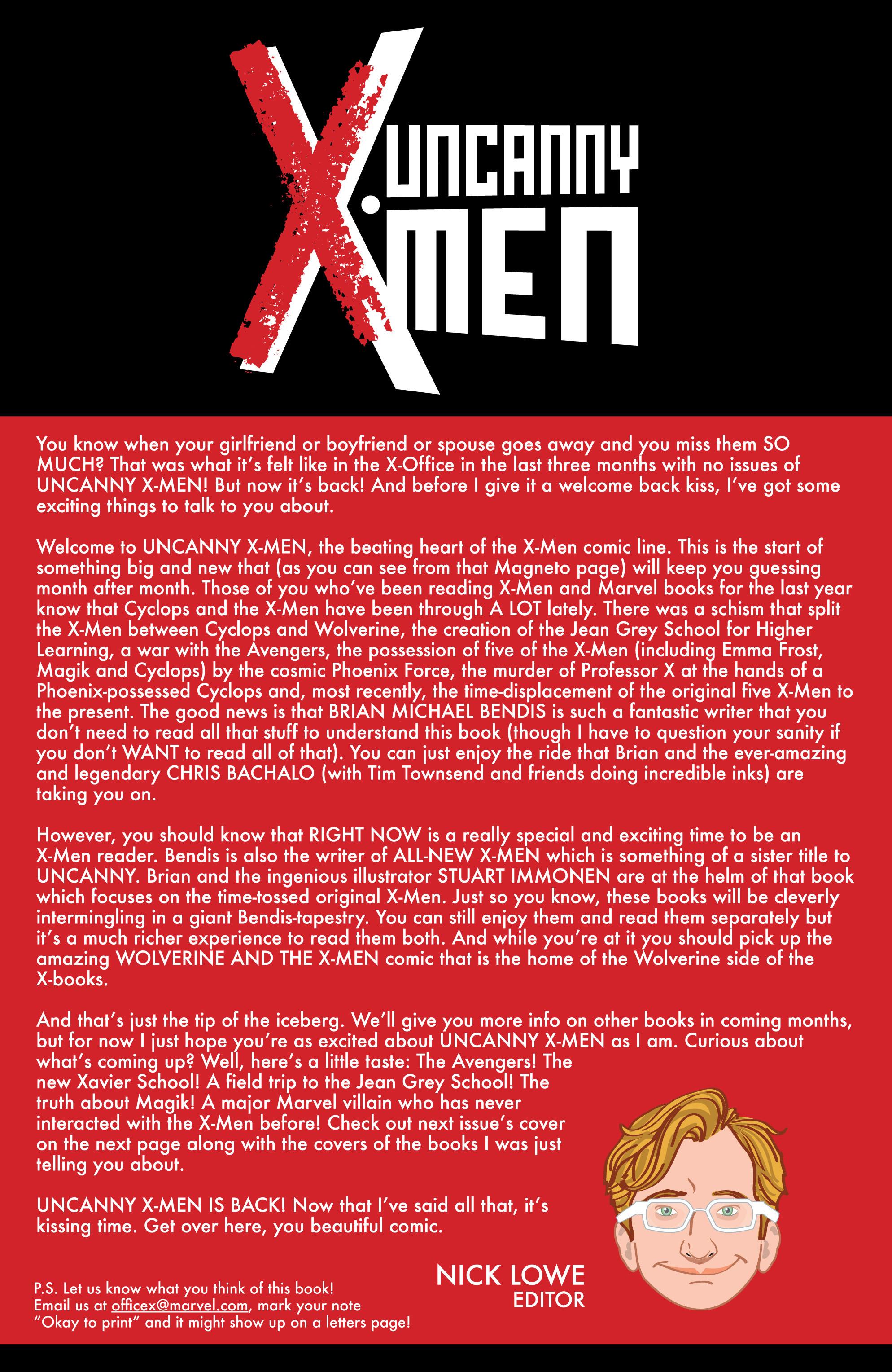Read online Uncanny X-Men (2013) comic -  Issue # _TPB 1 - Revolution - 23