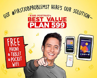 Sun Cellular Announces Best Value Plan 599, Get A Free Tablet, Phone and Pocket WiFi