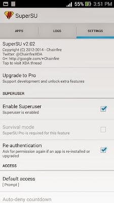 Cara Root ASUS Zenfone 5 Kitkat