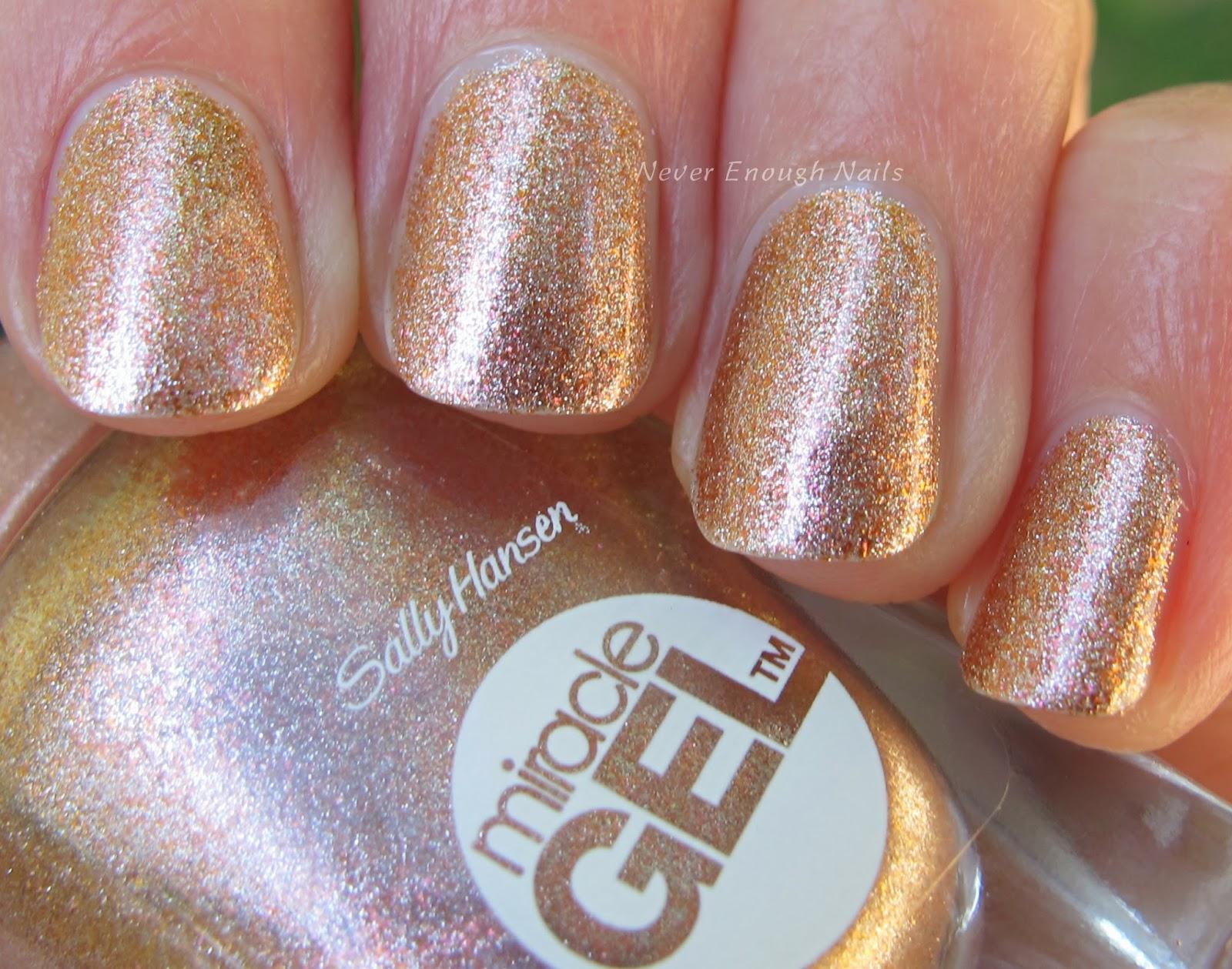 Never Enough Nails: 4 New Sally Hansen Miracle Gel Shades and ...