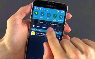 5- تقليل سطوع الشاشة: