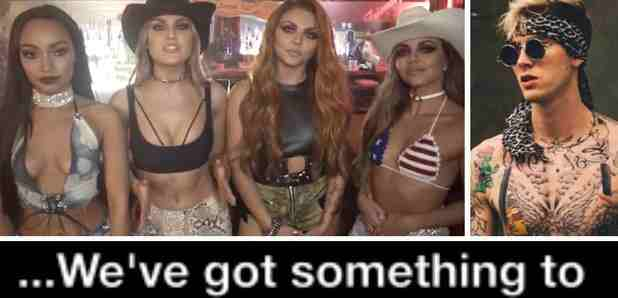 Little Mix Say 'no More Sad Songs' As Their Next Singl | Featuring Machine Gun Kelly! | Pop Songs In News
