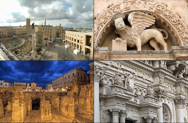 La bella Lecce, capitale del Salento.