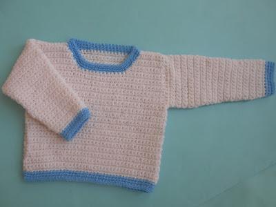 crochet-crosia-Boy-Romper-Set-sweater-design-pattern-free-tutorial-picture-step by step-handmade-video