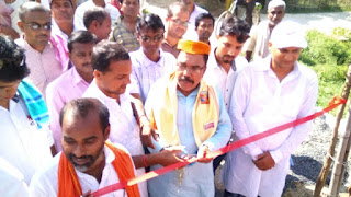 mla-inaugrate-cow-shelter-madhubani