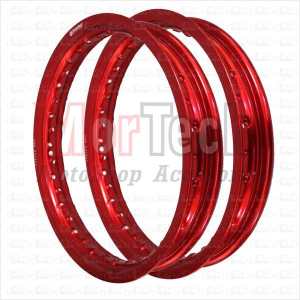gambar Velg Motor Warna Merah