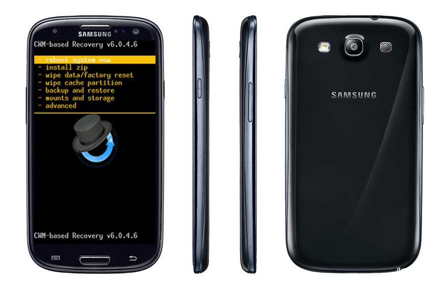 Tutorial Cara Pasang CWM Recovery Mode Pada Samsung Galaxy S3 GT-I9300
