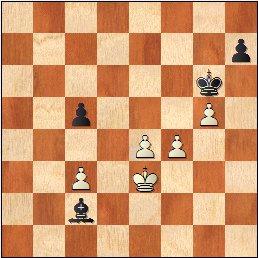 Partida de ajedrez Durao Leal vs Francino, posición después de 30…Rg6!