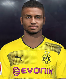 PES 2018 Faces Jeremy Toljan by Shaft