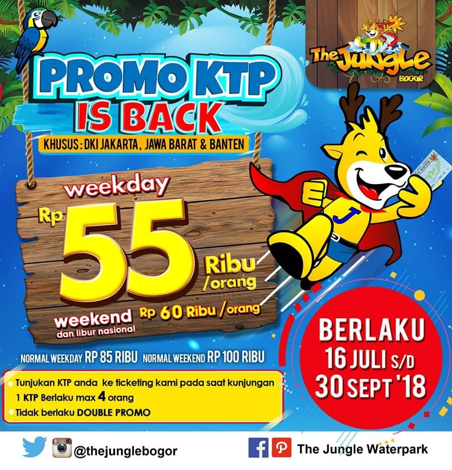 Jungle Series On Bogor Promo Harga Tiket Masuk Terbaru Jungleland