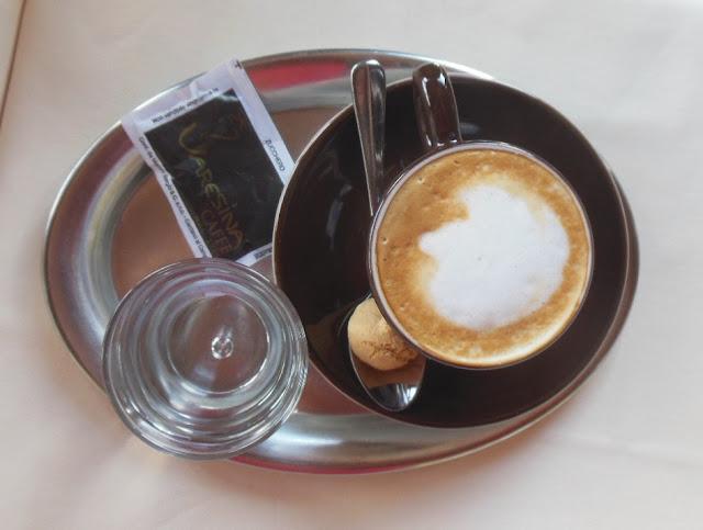 Gasthof zur Waldbahn, Zwiesel, coffee