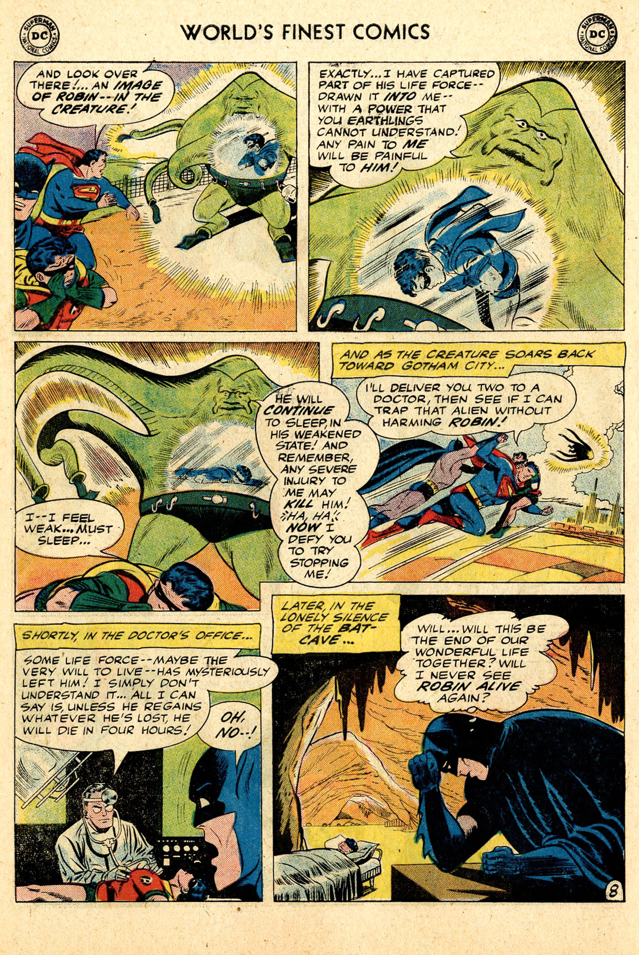 Read online World's Finest Comics comic -  Issue #110 - 10