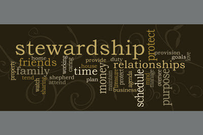 Stewardship is not about money...  Thoughts at DTTB.