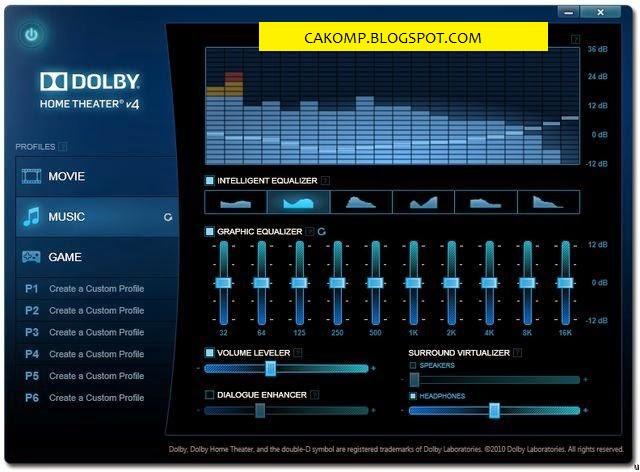 Memperjernih Suara di Laptop Menggunakan Dolby