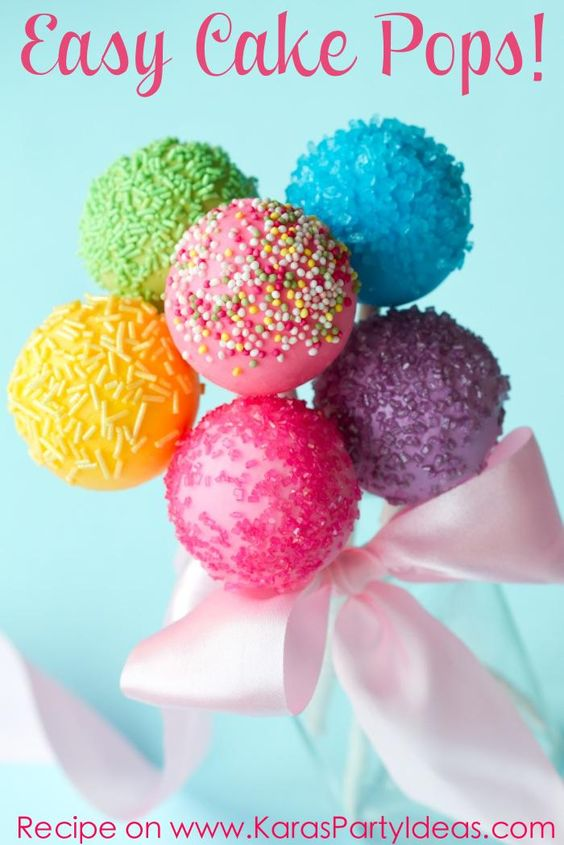 Easy Cake Pop Recipe!