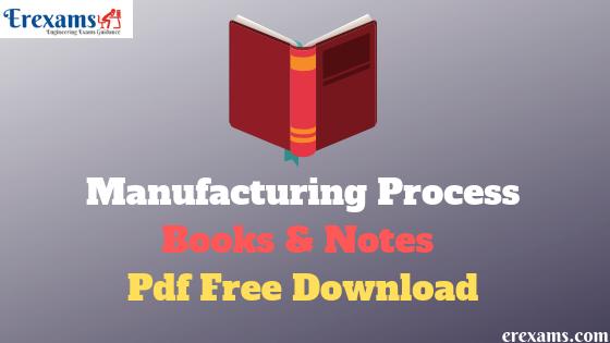 Basic Manufacturing Process Book