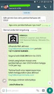 Testimoni CUG Telkomsel Kartu Pasangan Kartu Komunitas Kartu Soulmate Kartu Couple 13 November 2018