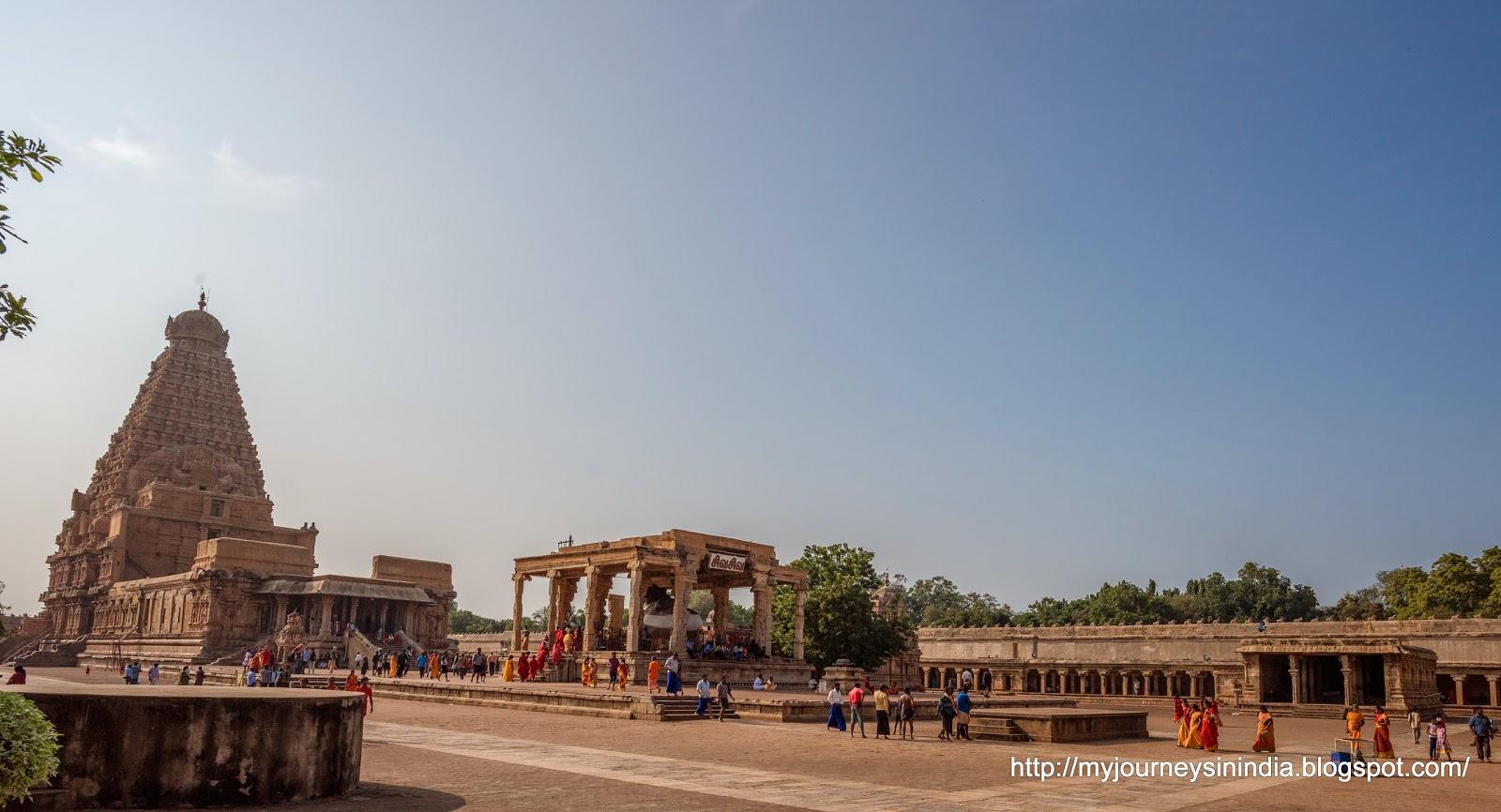 Thanjavur Brihadeeswarar Temple View