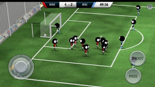 Game Sepak Bola Android / IOS Terbaik dan Terpopuler - Stickman Soccer