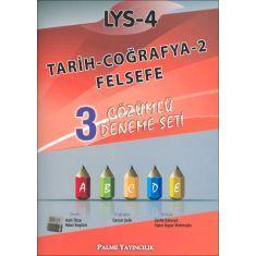 Palme LYS-4 Tarih Coğrafya 2 Felsefe 3 Çözümlü Deneme Seti